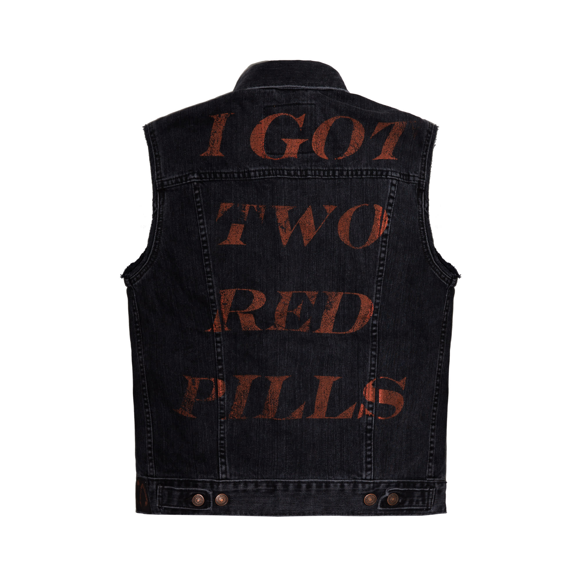 "The Weeknd's 'My Dear Melancholy' ""Privilege"" vest back."