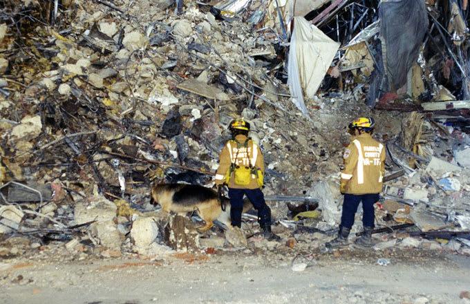 EMS crew at pentagon on 9/11