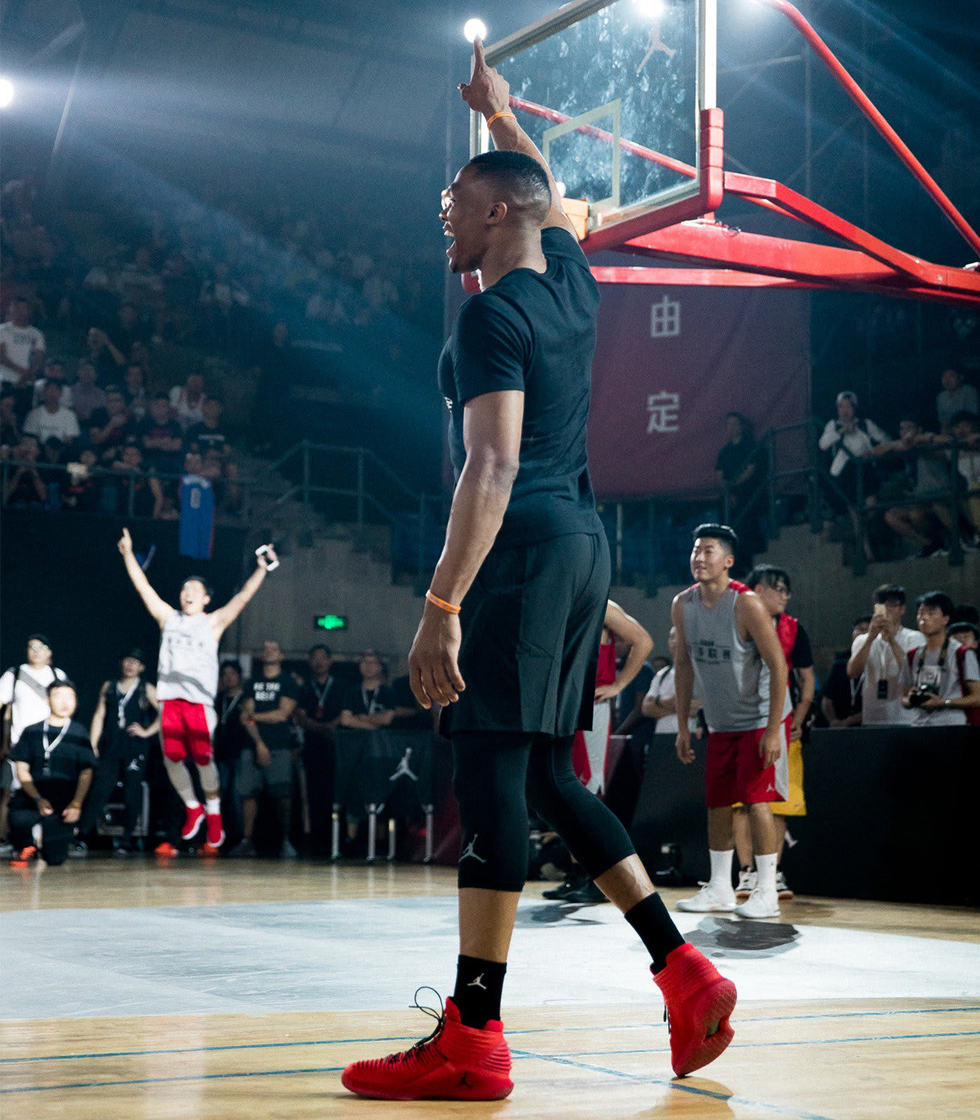 Russell Westbrook Tours China Air Jordan 32 (12)