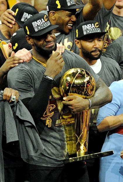 lebron trophy