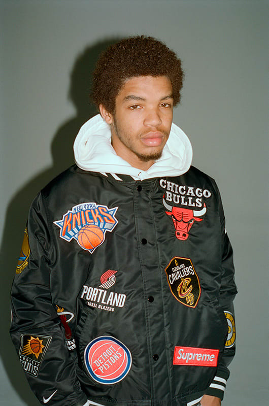 Stans Auto Sales >> Supreme Reveals Nike x NBA Collection Featuring Jerseys, Jackets, and Air Force 1 Mids | Complex