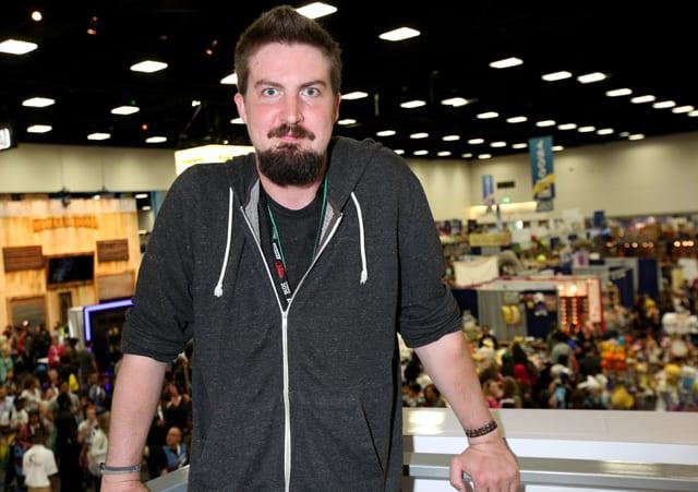 Adam Wingard at Comic-Con International 2015