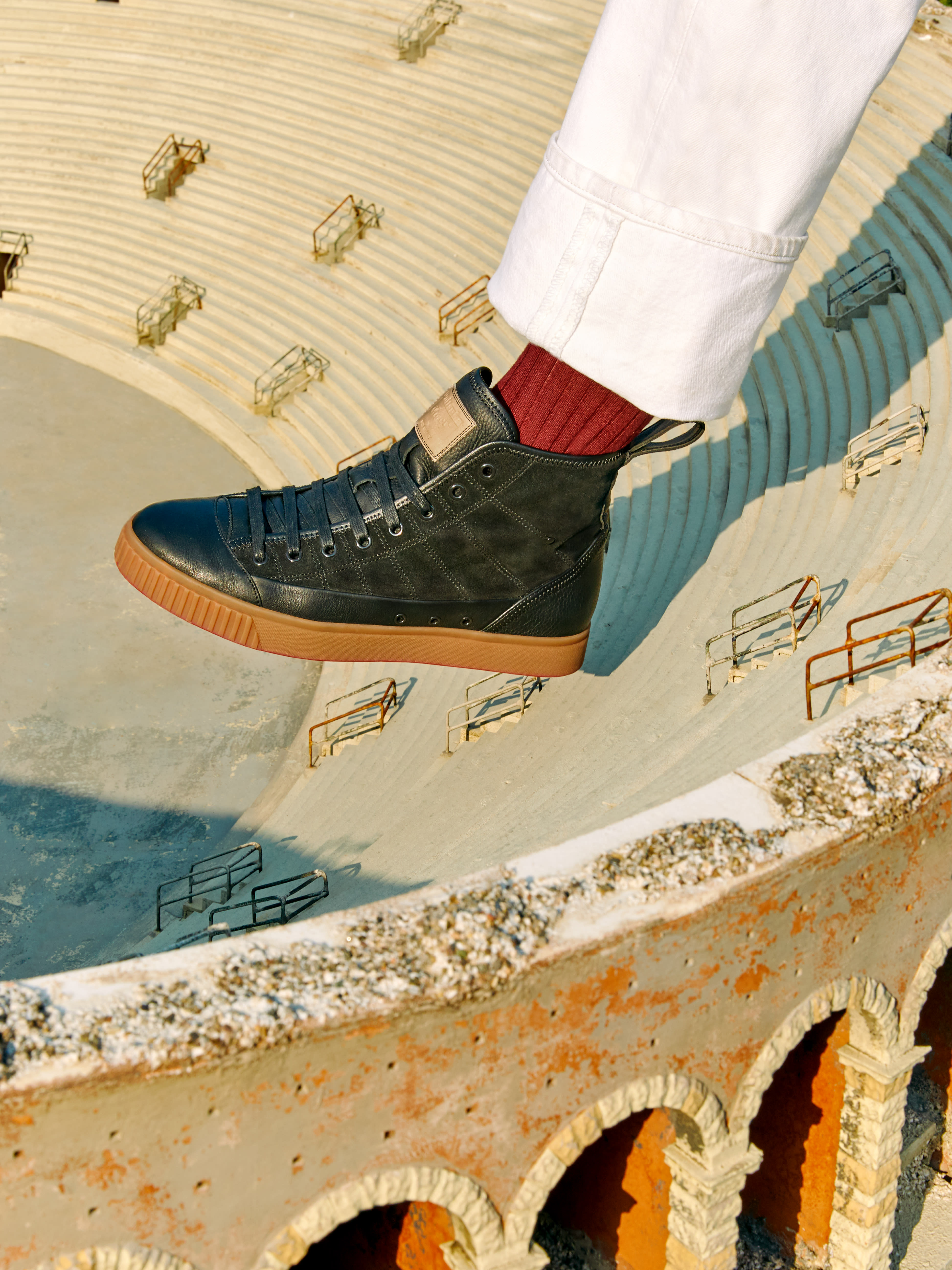 5689bf4677b Onitsuka Tiger Showcases Luxury Craftsmanship with the Made in Italy ...