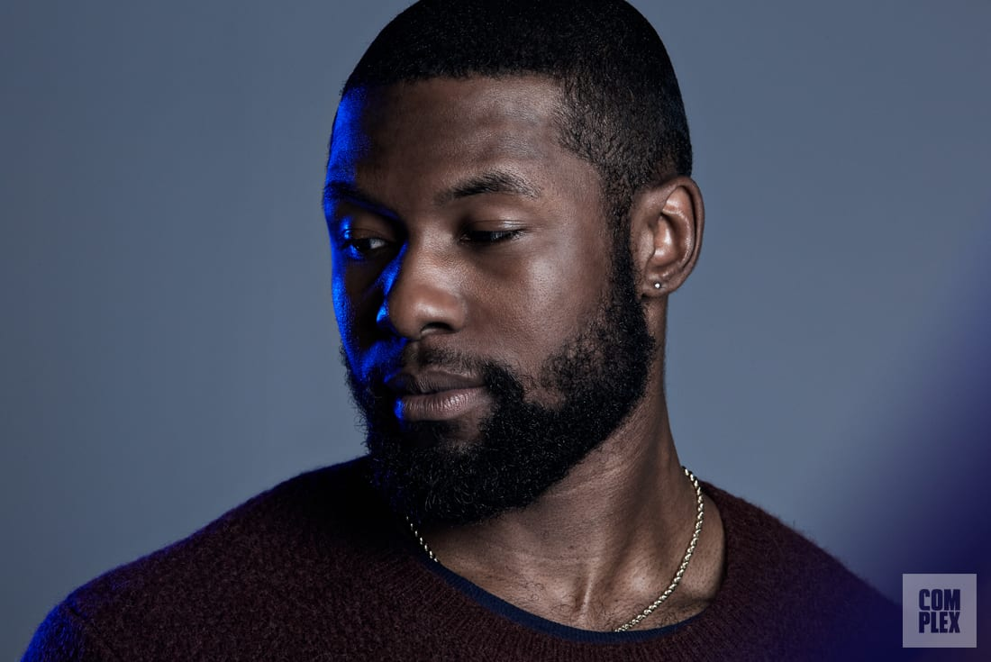 Trevante Rhodes Thoughtful