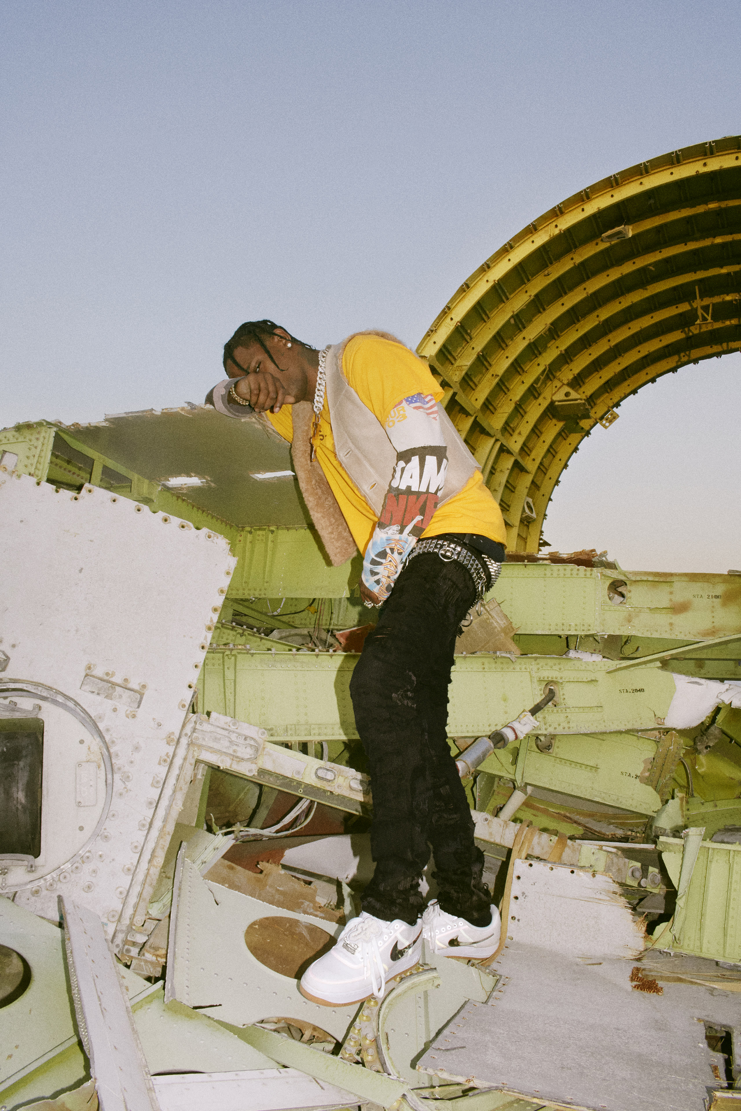 Nike Air Force 1 Roc A Fella Acronym Off White Travis Scott