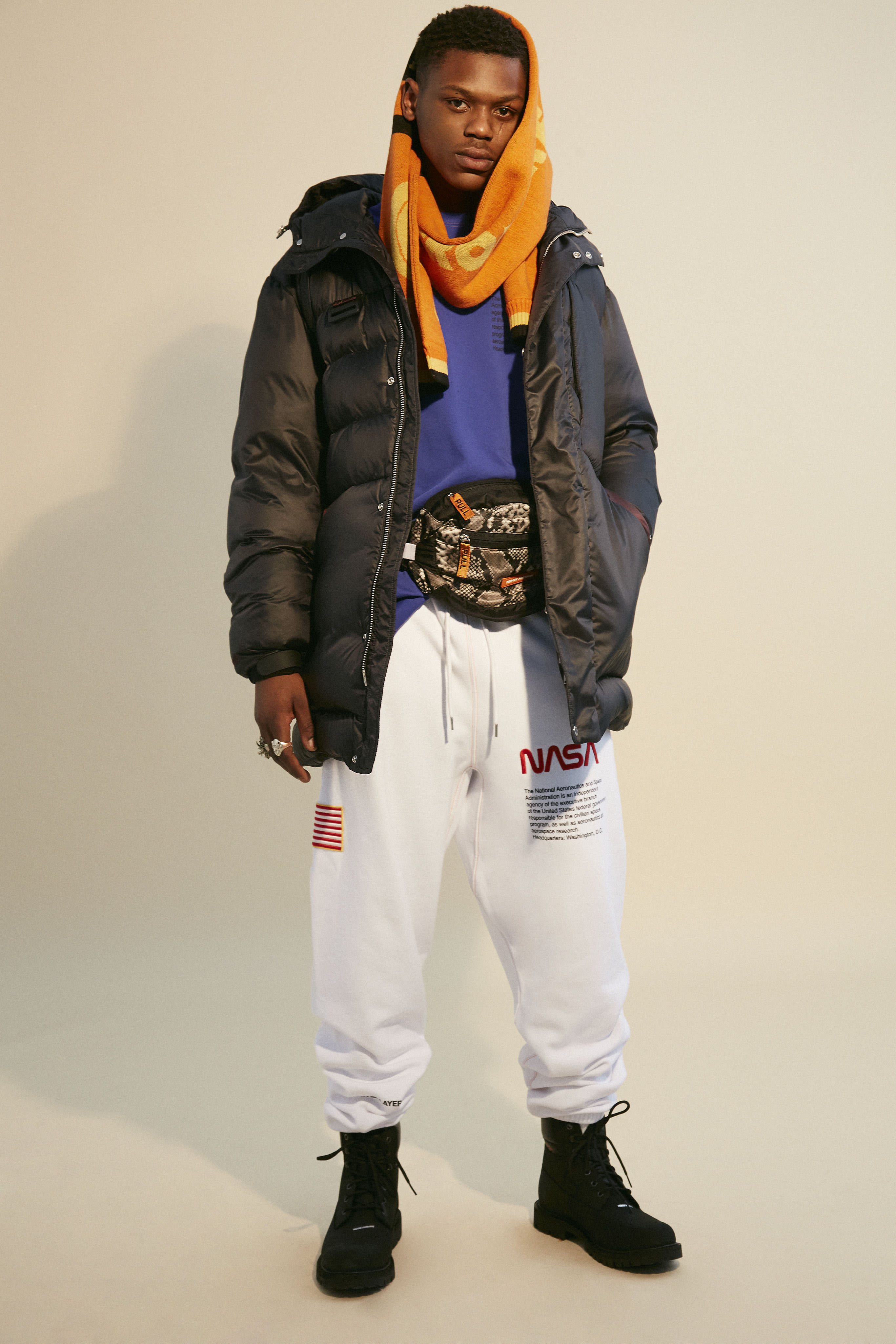 Heron Preston Showcases Out Of This World Nasa Collection