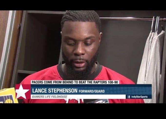 Lance Stephenson Waves