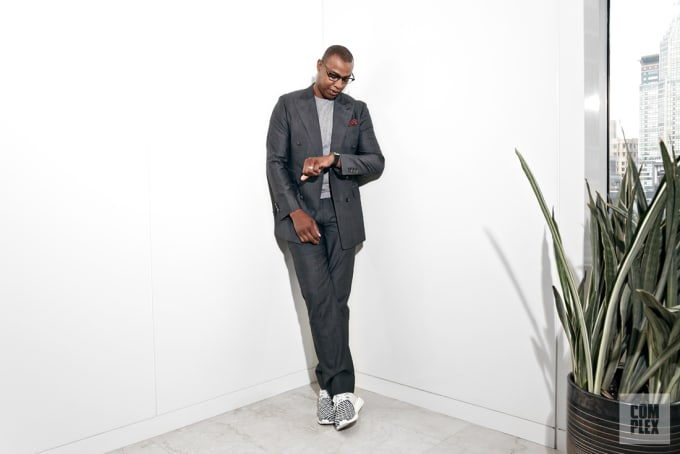 Caron Butler Watch Complex Office May 2017