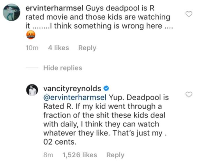 Ryan Reynolds Instagram
