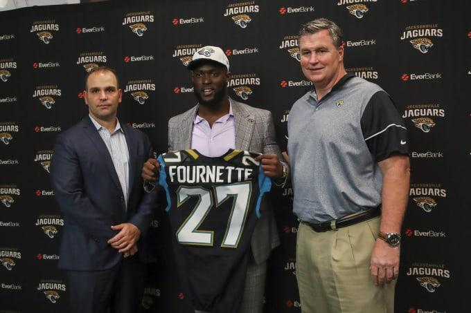 Jacksonville Jags Draft Day 2017 Leonard Fournette