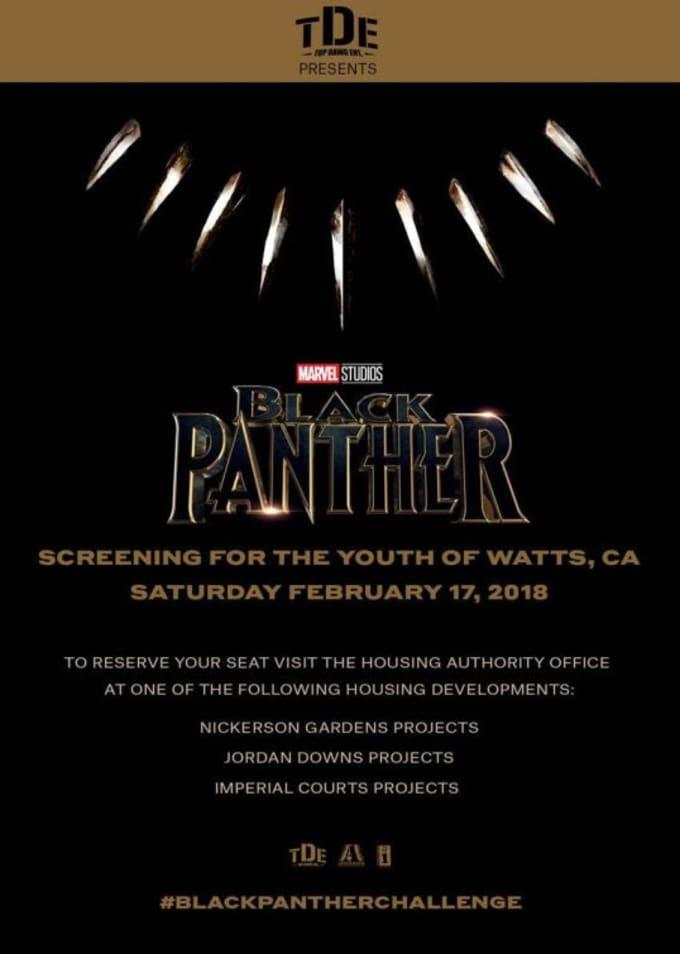 black panther watts screening