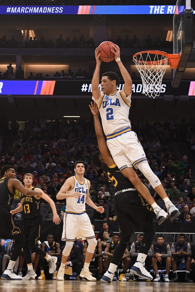 Lonzo Ball NCAA Tournament UCLA
