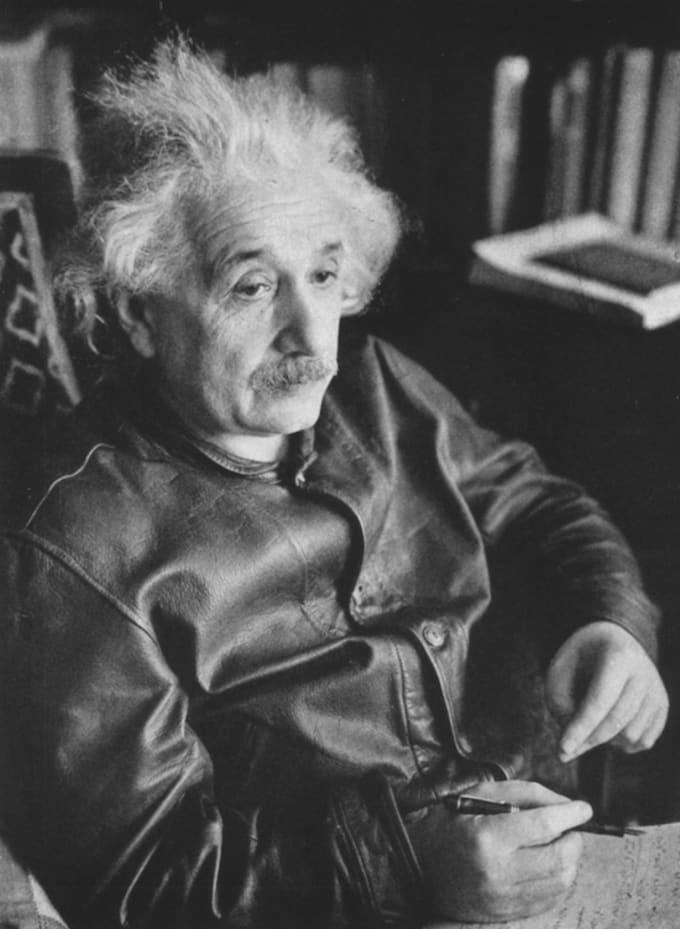Albert Einstein's Levi's® Menlo Cossack Jacket