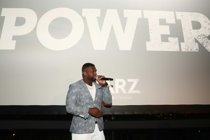 50 Cent at STARZ 'Power' Season 4 L.A. Screening And Party