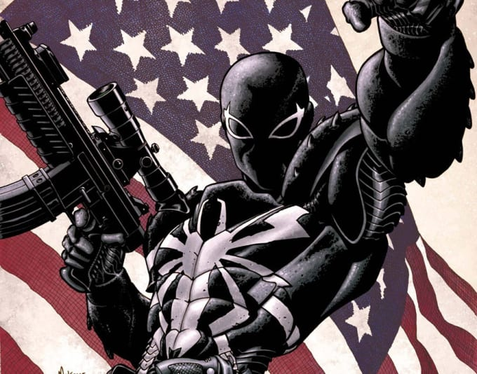 Flash Thompson as Venom