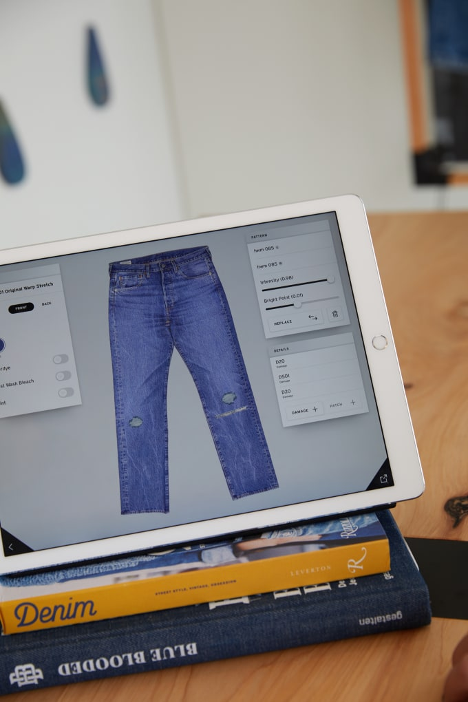 Introducing Levi's(R) customization studio with Project F.L.X. Technology