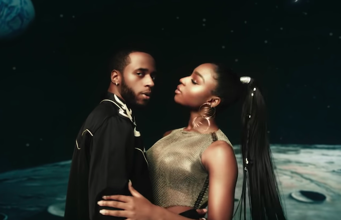 Normani and 6lack Share