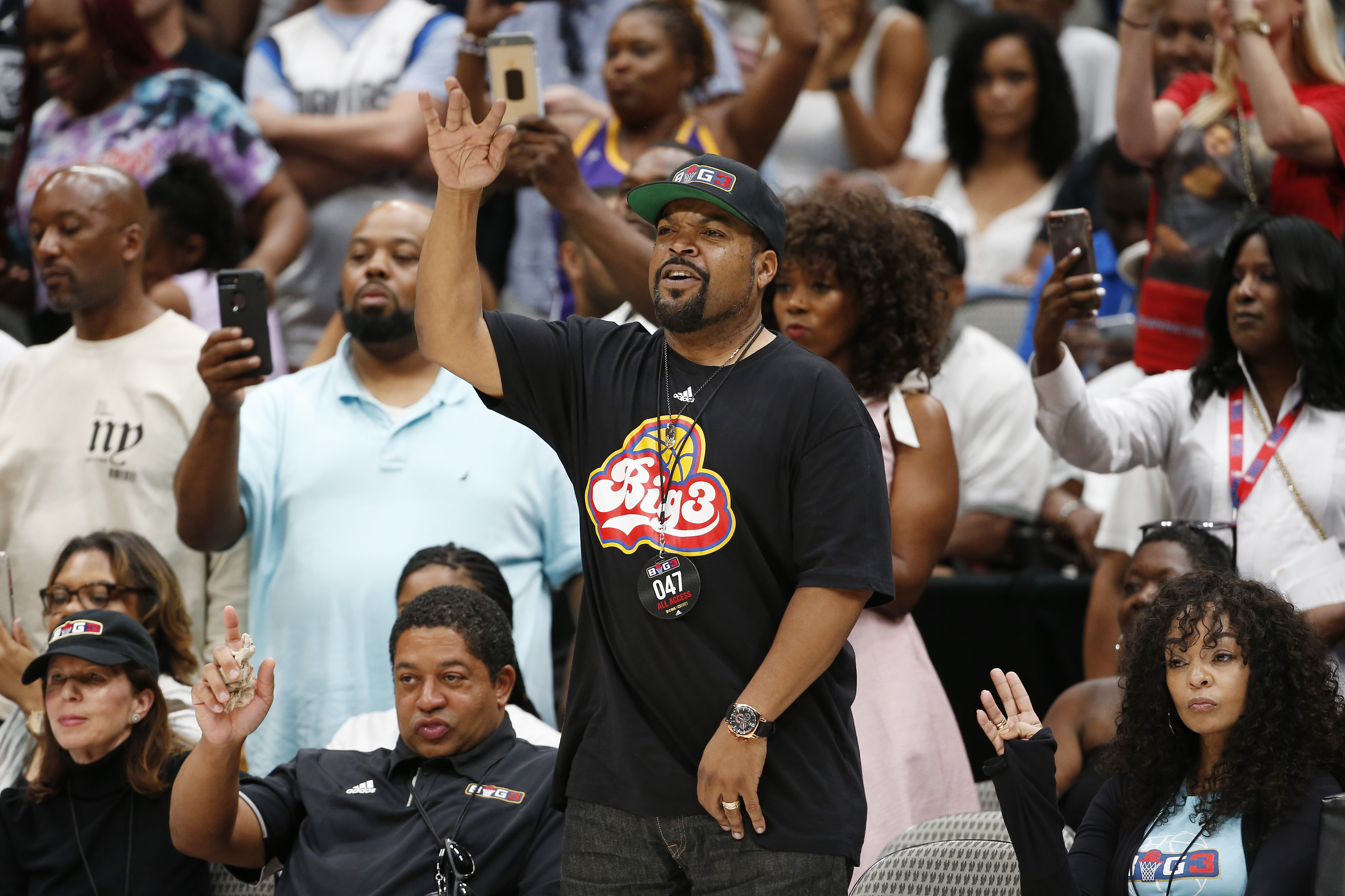 Ice Cube Talks Potential of Carmelo Anthony Joining 'BIG3' and Status of New 'Friday' Film