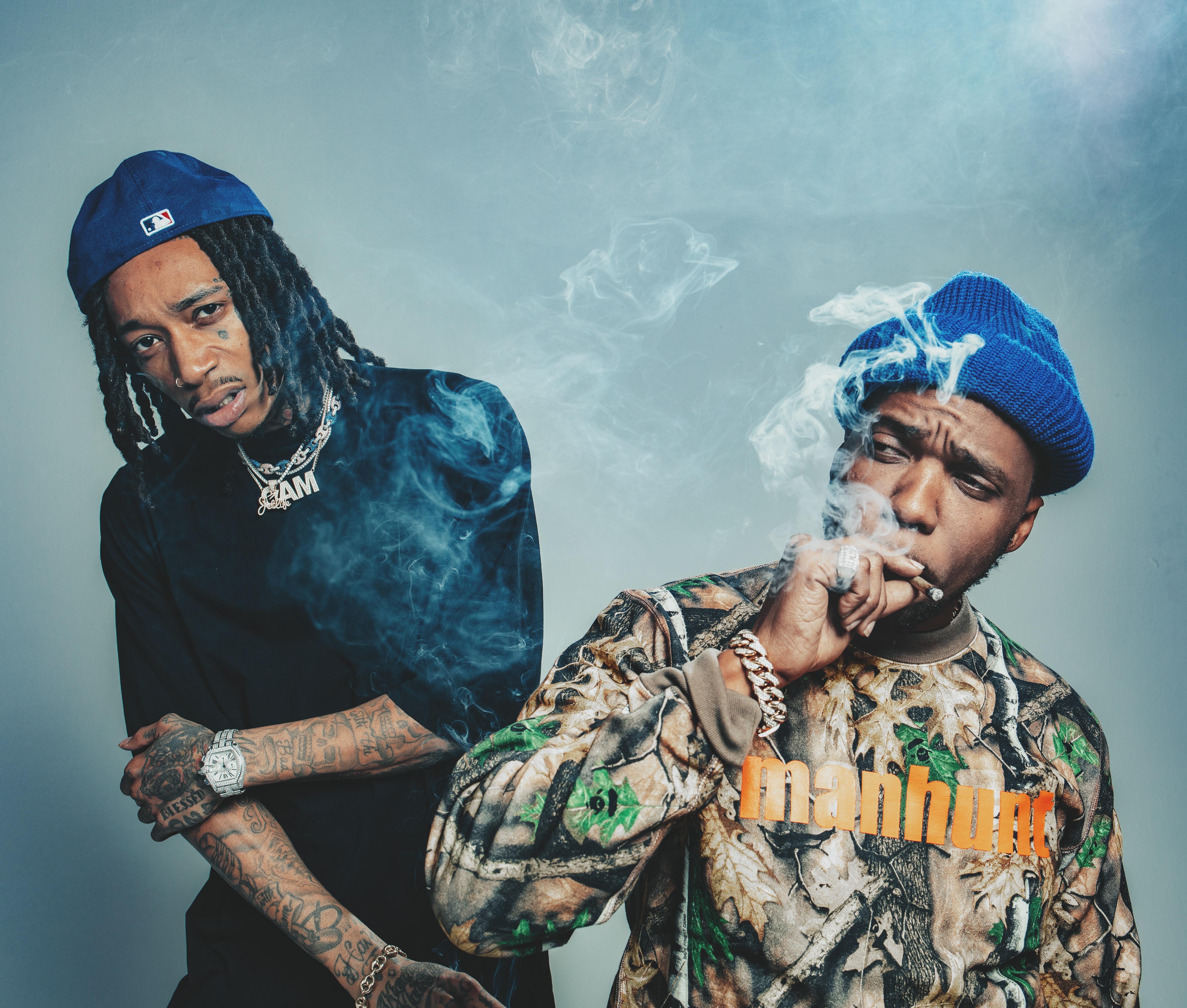 Wiz Khalifa and Curren$y: