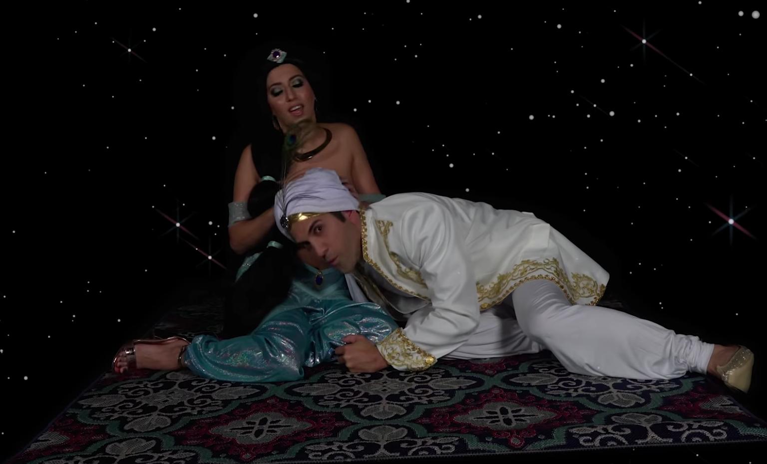Aladin Porm 'aladdin' gets a timely porn parody