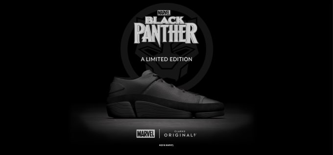 And Clarks A Marvel Edition Limited Launch Panther Black Originals vq5SgwqB