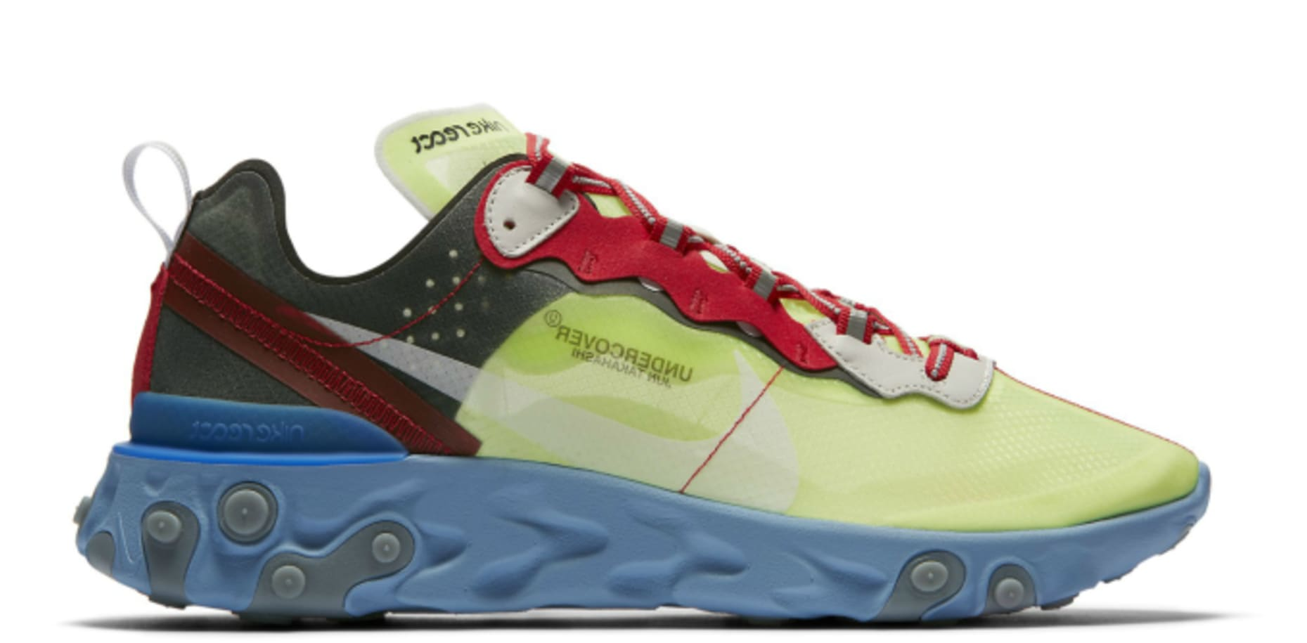 best service 2b8ba 6950d Image via Nike undercover-nike-react-element-87-volt-university-red-