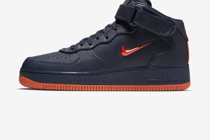 """official photos 9f9e3 bacd9 Nike Air Force 1 """"NYC"""" Mid"""