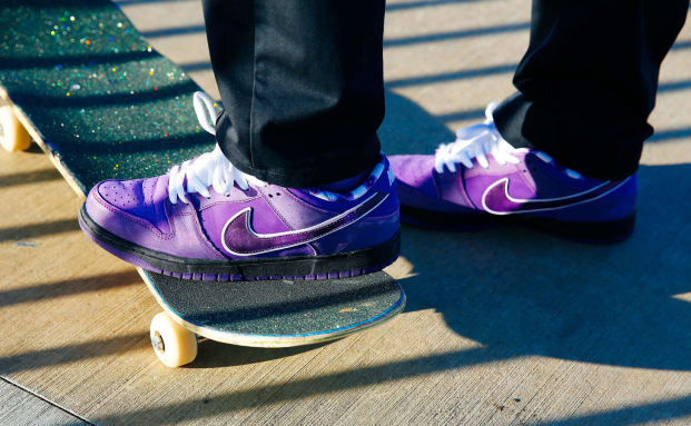 Concepts x Nike SB Dunk Low Purple Lobster Release Date