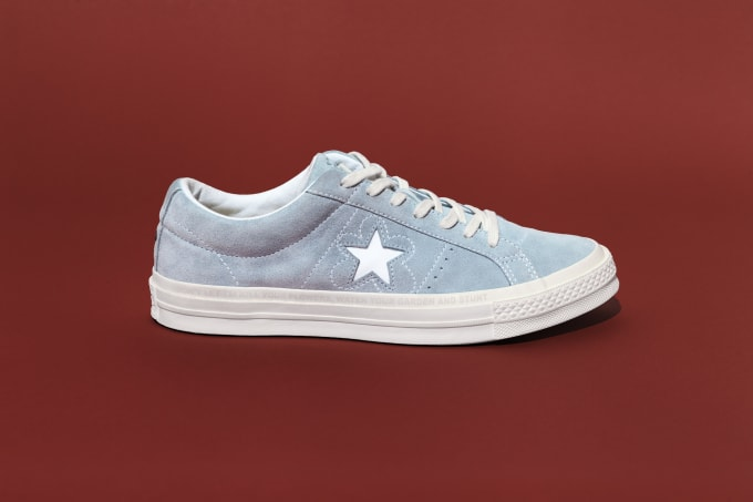 c1310b4b66fb94 ... the One Star x Golf Le Fleur collab launches at Converse retail stores  and online on August 3rd. golf-converse-tyler1