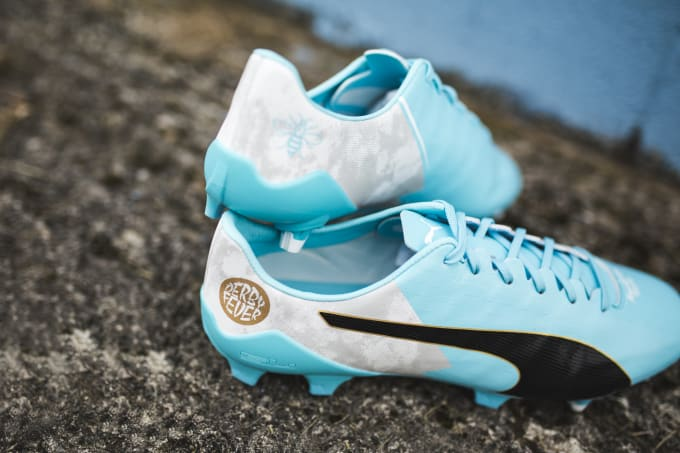 último clasificado mejor precio venta de bajo precio PUMA Unveil Limited-Edition 'Derby Fever' Boots for Sergio Aguero ...
