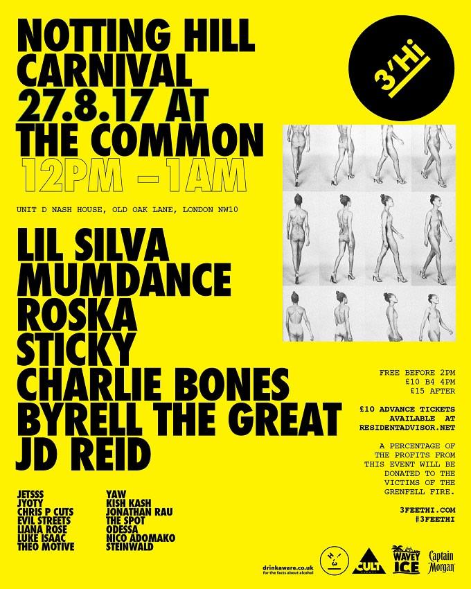 3'Hi Carnival Flyer
