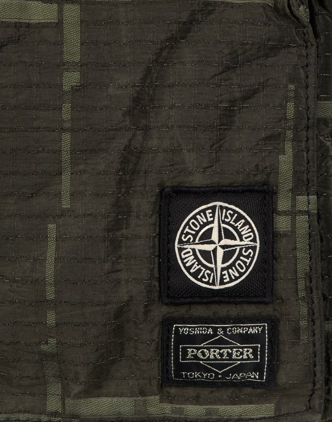 Stone Island Reinterprets Porter® Bags with Their Iconic Textile ... e3d04d7f105e6