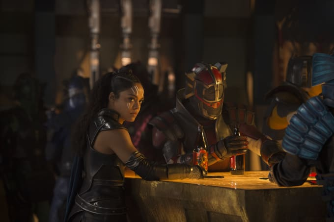 Tessa Thompson in 'Thor: Ragnarok'