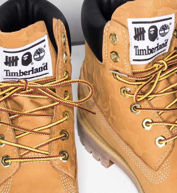 Undefeated x Bape x Timberland 6 Boot 3