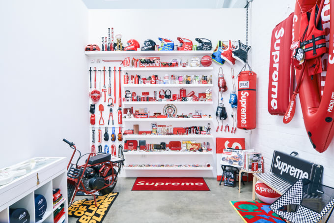 Supreme Inferno exhibit