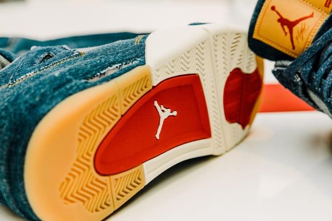 Jordan Brand And Levi's® Unveil Air Jordan IV & Trucker Jacket Collaboration