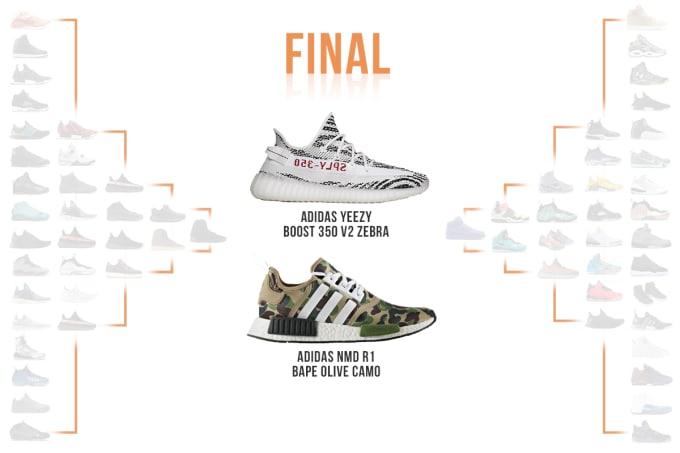 a2fdaf46 Complex Sneakers x StockX SneakerMadness Finals Image via StockX. News Adidas  Bape adidas-nmd ...