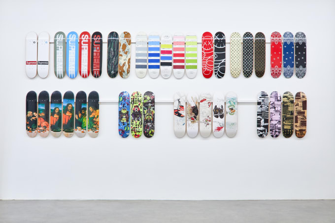 Supreme Decks at Sotheby's (Last Supper)