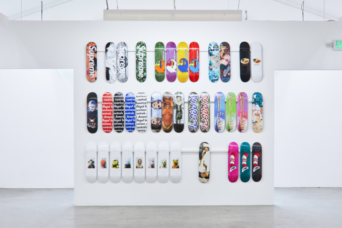 Supreme Decks at Sotheby's (Illegal Business)