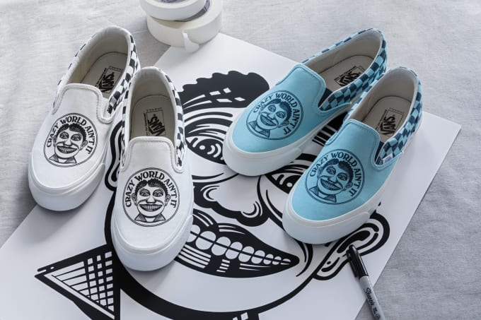 93615abd7b34 John Van Hamersveld Brings His Iconic Prints to Vault by Vans for an ...