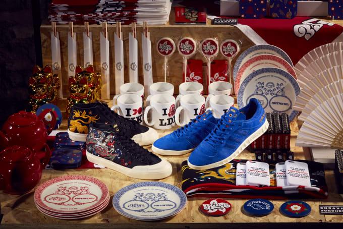 Adidas Consortium Exchange Juice x Foot Patrol Matchcourt Mid & Handball Top