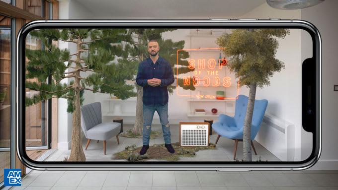 Justin Timberlake American Express