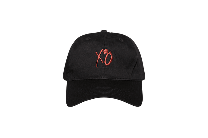 asia the weeknd velcro cap