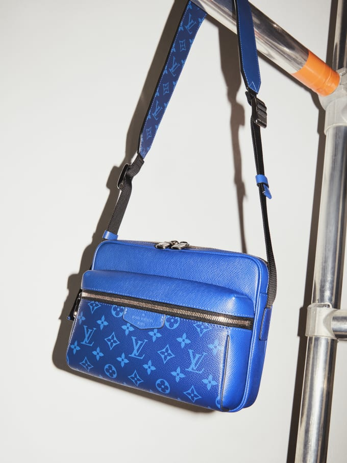 Louis Vuitton Unveils Its New Taïgarama Leather Goods Line