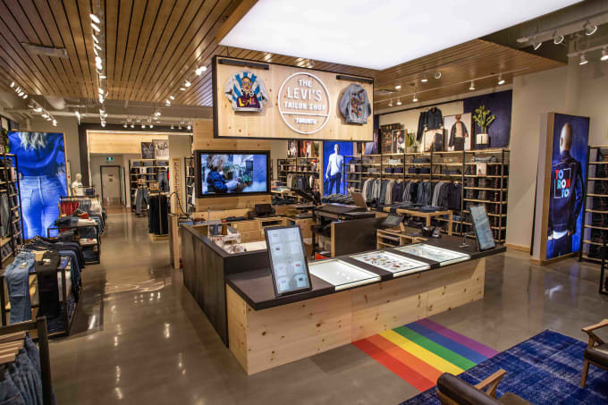 Levi's Authorized Vintage Line Hits Toronto Flagship Store