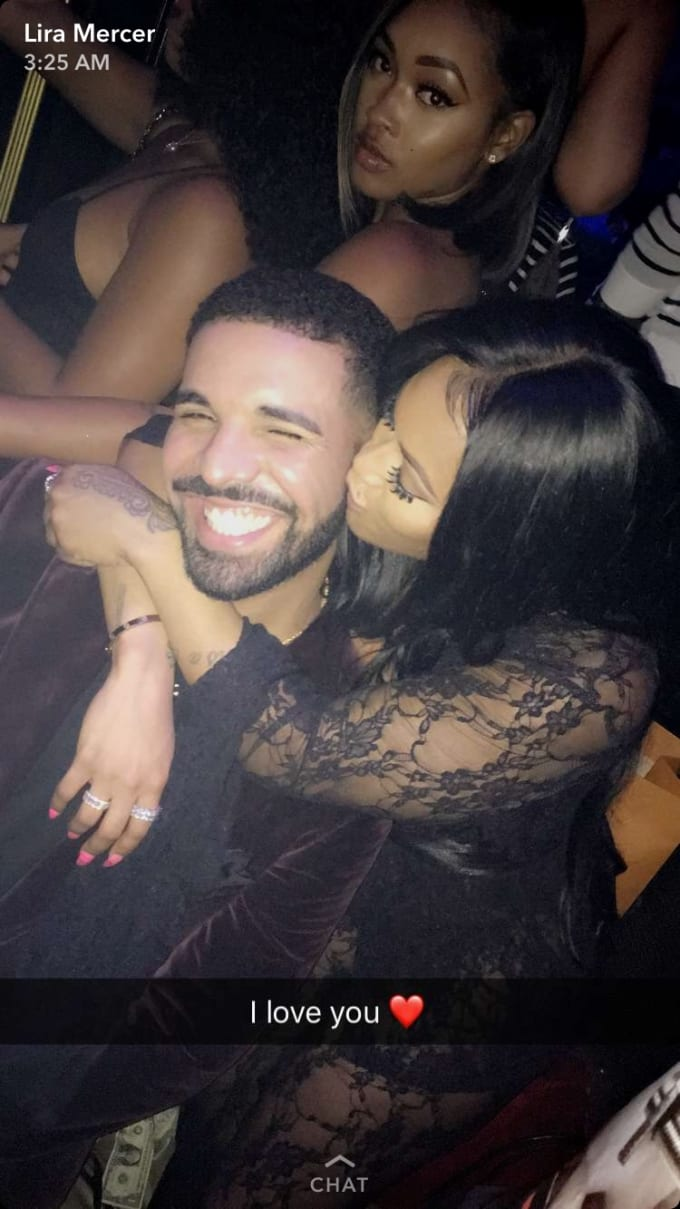 drake with lira mercer