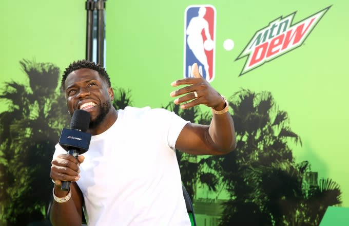 Kevin Hart and Mountain Dew.