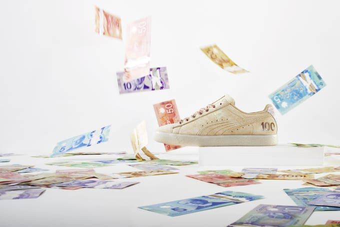 Puma Releases 'Canadian Money' Pack