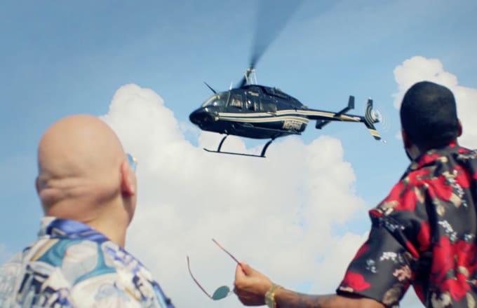 Fat Joe helicopter