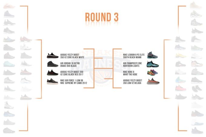 Complex Sneakers x StockX Sneaker Madness Round 3